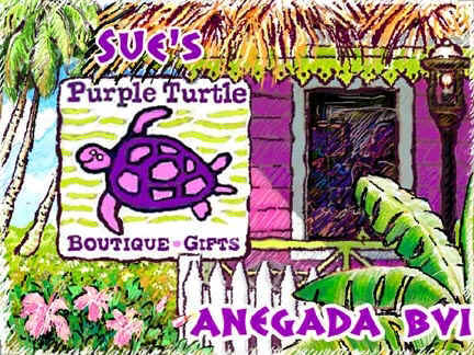 Sue's Purple Turtle